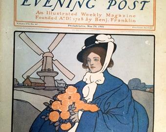 Vintage Saturday Evening Post Magazine, May 25, 1901
