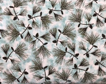 Quilting Treasures 'Pine Boughs' Fabric By The Yard; Native Pines Collection, 1649-24073-Q