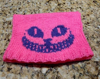 Knitted Cheshire Cat Hat