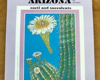 Arizona and the Southwest Cacti and Succulents Books 1 & 2, Erni Cabat