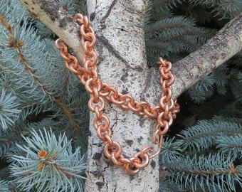 Heavy Copper Neck Chain