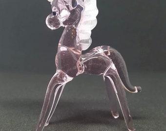 Unicorn Glass Figurine
