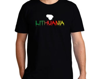 Dripping Lithuania T-Shirt