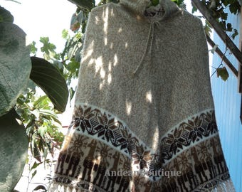 Handmade Alpaca ponchos Made in Peru