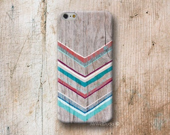 Native Chevron Wood print Phone Case for iPhone 4 4s 5 5s SE 5C 6 6S 7 8 PLUS X iPod Touch 5 6 Oneplus 2 3 5 1+2 1+3 1+5