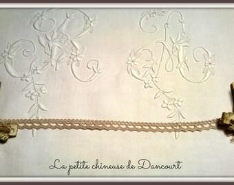 Miss linen lace