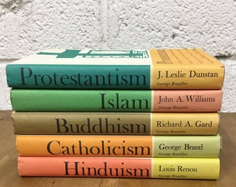 Great Religions of Modern Man book set, five volumes