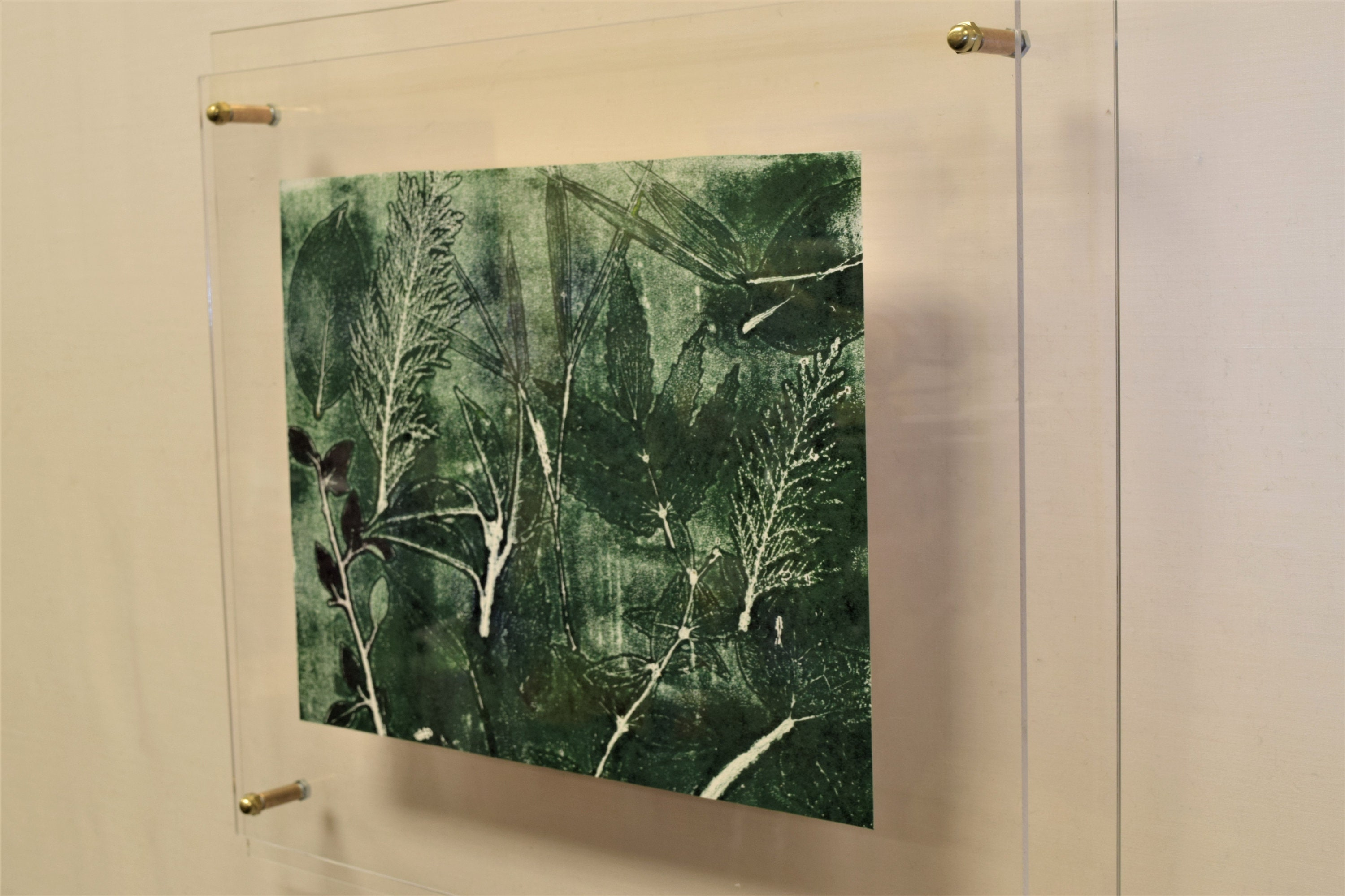 ACRYLIC Frame 16x20 DELUXE MEDIUM 23x27 to Fit Art 16x20 Floater ...