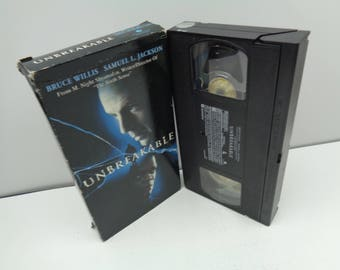 Unbreakable VHS