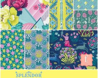Amy Butler Splendor 7 Piece Bundle - Free Spirit Fabrics 100% Quilters Cotton - You Choose the Length