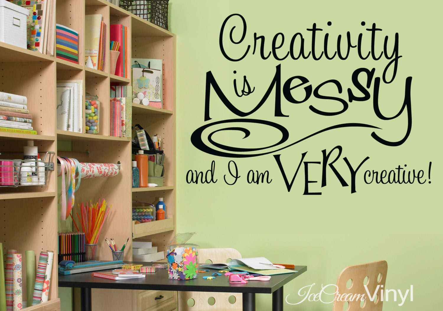 Amazing Craft Room Wall Decor Pattern - The Wall Art Decorations ...