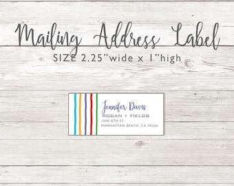 Mailing Address Return Labels -  Rodan and Fields