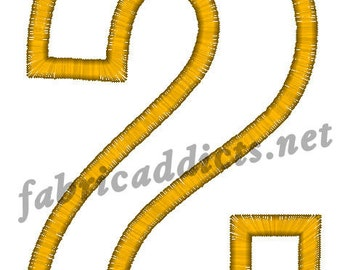 Applique #2 fits 4x4 Hoop for Embroidery Machine - Automatic Download Multiple Formats