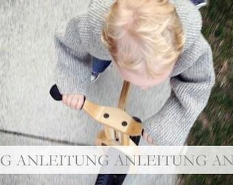 NATURKINDER Anleitung Kapuzen Baby Pullover