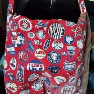 Vintage Political Backpack