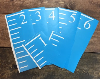 STENCILS for DIY: Growth Chart Ruler