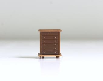 Micro Mini Dresser, Micro Mini Drawers, Miniature Dresser, Dollhouse Dresser, Micro Mini Furniture, Micro Mini Dollhouse, Dresser, Bureau