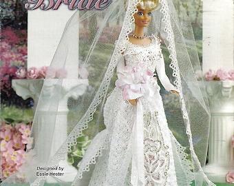 Beautiful Bride  Fashion Doll  Crochet Pattern  Annies Attic 871319