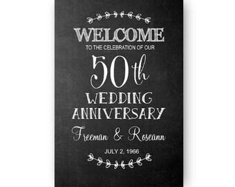 Happy Anniversary Chalkboard Digital Download
