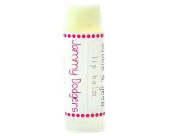 Jammy Dodgers Flavored Lip Balm - berry jam