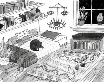 Witch House 8--The bedroom