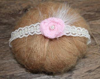 Newborn photography tieback, Newborn headband, baby headband, Child headband, Newborn photography prop, photo prop, newborn tieback