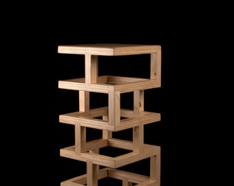 Wooden Design Chair BS001 by BlackGizmo