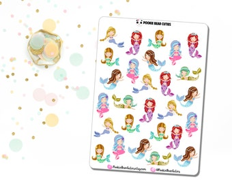 Mermaid Stickers!-080