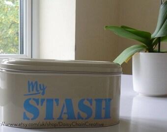 Vinyl Decal - My Stash