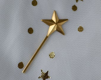 Miniature Brass Wands, Set of 6