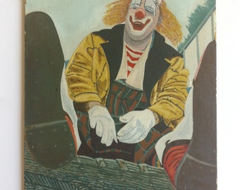 Clown Painting Orignal Art