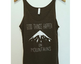 The Original--Good Things Happen on Mountains Tank