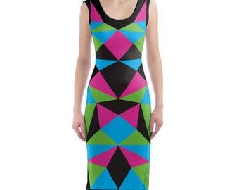 Perfect Delusion' Bodycon Dress