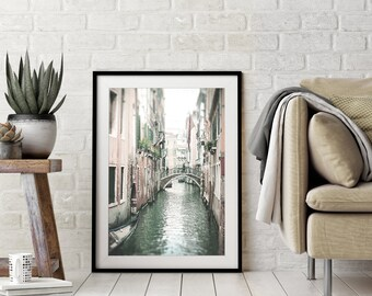 Digital Download Venice Print Italy Print, Photography, Large Wall Art Prints Venice Printable Art Architecture Poster Europe Photo Download