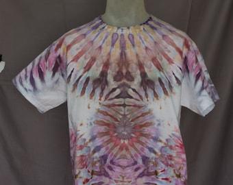 Handmade Ice Dye T-Shirt: Large 14