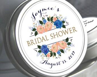 12 Bridal Shower Mint Tins, Personalized Mint Favor Mint to Be Wedding Favor Personalized Bridal Shower Favor, Mint Tin Favors