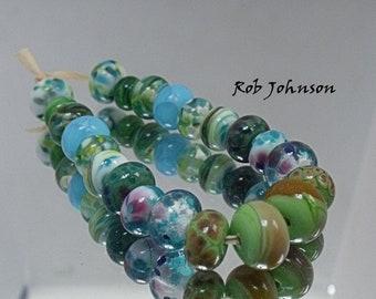 Earring Pairs, Artisan Lampwork Glass Beads, SRA, UK