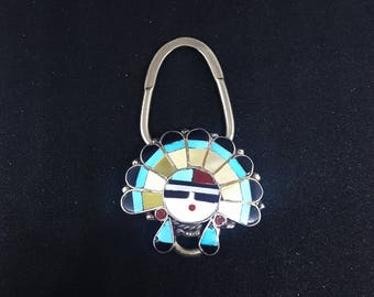Zuni Inlay Key Chain