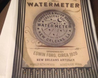 Watermeter New Orleans Cresent Moon Kitchen Towel