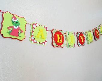 Grinch Theme  banner