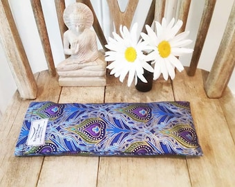 Yoga Eyepillow. Wholesale. Lavender Flowers. Australian Made. Meditation. Relaxtion Prop. Linseed Eyepillow. Sleep Aid. Removeable Cover.