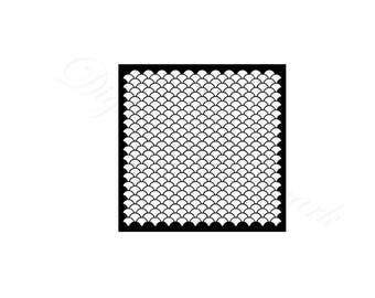 Fish scales svg etsy for Fish scale coke cut