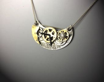 Essence of Time (Fine SIlver, 24ct Gold Plated)