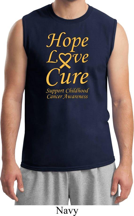 Men's Support Childhood Cancer Awareness Burnout Tee T-Shirt CH-SUPPORT-NL6110 EF1lu