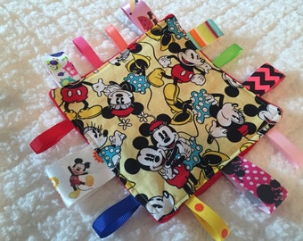 Mickey Mouse and Minnie Mouse Crinkle Sensory Toy