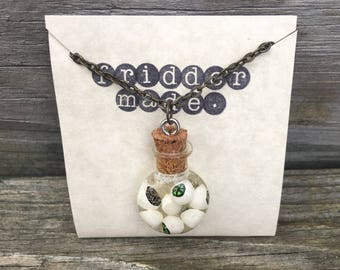 Eyeball Charm Necklace