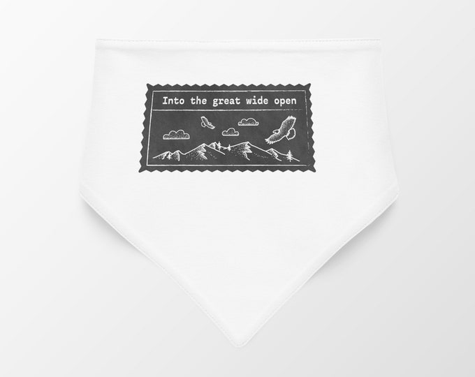 Into the great wide open Dog Bandana