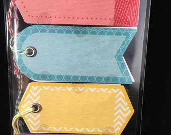 Color Tags With Twine Jolees Boutique
