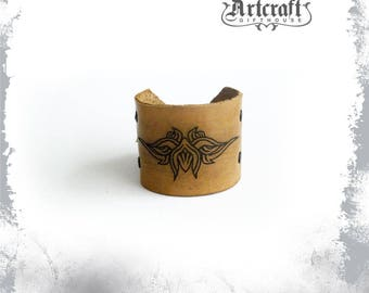 Warrior bracelet Warrior jewelry Post apocalyptic bracelet Apocalyptic jewelry Warrior wristband Warrior cosplay Medieval bracelet