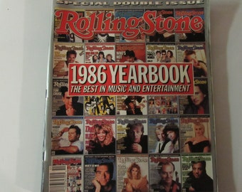 Rolling Stone Magazine 1986 Yearbook
